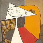 1930 Femme assise [Figure], Pablo Picasso (1881-1973) Period of creation: 1919-1930