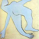 Pablo Picasso (1881-1973) Period of creation: 1919-1930 - 1929 Lacrobate bleu1