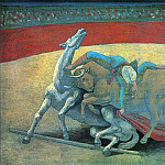 Pablo Picasso (1881-1973) Period of creation: 1919-1930 - 1923 Courses de taureaux (Corrida)
