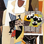1921 Chien et coq, Pablo Picasso (1881-1973) Period of creation: 1919-1930