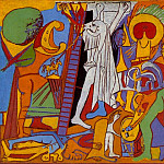 1930 La crucifixion, Pablo Picasso (1881-1973) Period of creation: 1919-1930