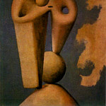 1929 TИte, Pablo Picasso (1881-1973) Period of creation: 1919-1930