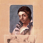 1921 Portrait dOlga. JPG, Pablo Picasso (1881-1973) Period of creation: 1919-1930