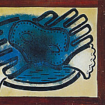 1923 Masque et gant, Pablo Picasso (1881-1973) Period of creation: 1919-1930