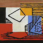 1922 Compotier et paquet de tabac, Pablo Picasso (1881-1973) Period of creation: 1919-1930