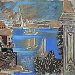 1922 Paysage de Dinard, Pablo Picasso (1881-1973) Period of creation: 1919-1930