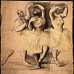 1919 Trois danseuses, Pablo Picasso (1881-1973) Period of creation: 1919-1930
