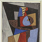 1920 Composition cubiste, Pablo Picasso (1881-1973) Period of creation: 1919-1930