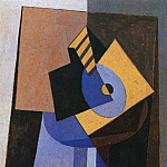 Pablo Picasso (1881-1973) Period of creation: 1919-1930 - 1920 Mandoline sur un guВridon