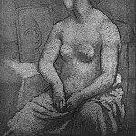 1922 Nu fВminin assis, Pablo Picasso (1881-1973) Period of creation: 1919-1930