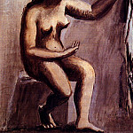 Pablo Picasso (1881-1973) Period of creation: 1919-1930 - 1921 Femme assise
