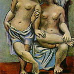 Pablo Picasso (1881-1973) Period of creation: 1919-1930 - 1920 Deux femmes nues1