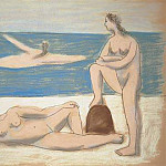 Pablo Picasso (1881-1973) Period of creation: 1919-1930 - 1920 Trois baigneuses1