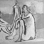 Pablo Picasso (1881-1973) Period of creation: 1919-1930 - 1920 Trois baigneuses II