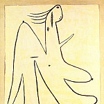Pablo Picasso (1881-1973) Period of creation: 1919-1930 - 1927 Figure fВminine debout