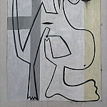 Pablo Picasso (1881-1973) Period of creation: 1919-1930 - 1927 Nu sur fond blanc