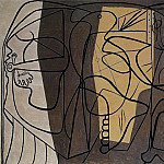 1926 Le peintre et son modКle, Pablo Picasso (1881-1973) Period of creation: 1919-1930