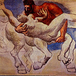 Pablo Picasso (1881-1973) Period of creation: 1919-1930 - 1920 Le rapt (Nessus & DВjanire)