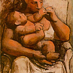 Pablo Picasso (1881-1973) Period of creation: 1919-1930 - 1921 MКre et enfant3