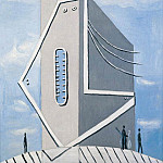 Pablo Picasso (1881-1973) Period of creation: 1919-1930 - 1929 Monument (TИte de femme)