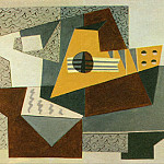 1920 Guitare, Pablo Picasso (1881-1973) Period of creation: 1919-1930
