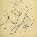 1920 Femme nue au turban, Pablo Picasso (1881-1973) Period of creation: 1919-1930