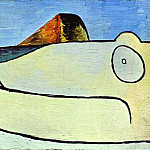 Pablo Picasso (1881-1973) Period of creation: 1919-1930 - 1929 Nue2 sur une plage