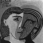 1926 TИte de femme3, Pablo Picasso (1881-1973) Period of creation: 1919-1930