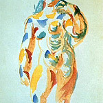 1919 Femme debout, Pablo Picasso (1881-1973) Period of creation: 1919-1930