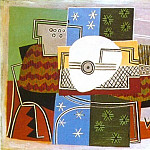 1924 Nature morte Е la mandoline, Pablo Picasso (1881-1973) Period of creation: 1919-1930