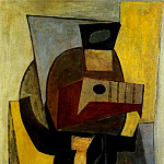 1920 GuВridon avec guitare, Pablo Picasso (1881-1973) Period of creation: 1919-1930