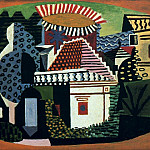 1920 Paysage de Juan-les-Pins, Pablo Picasso (1881-1973) Period of creation: 1919-1930