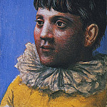 1922 Portrait dadolescent en Pierrot1, Pablo Picasso (1881-1973) Period of creation: 1919-1930