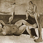 Pablo Picasso (1881-1973) Period of creation: 1919-1930 - 1920 Trois baigneuses