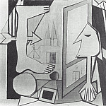 1929 La fenИtre ouverte, Pablo Picasso (1881-1973) Period of creation: 1919-1930