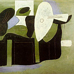Pablo Picasso (1881-1973) Period of creation: 1919-1930 - 1925 Instruments de musique sur une table