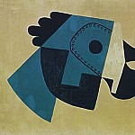 1923 Masque et gant1, Pablo Picasso (1881-1973) Period of creation: 1919-1930