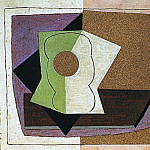 Pablo Picasso (1881-1973) Period of creation: 1919-1930 - 1923 Verre sur une table