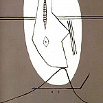 1927 TИte de femme, Pablo Picasso (1881-1973) Period of creation: 1919-1930