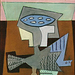 Pablo Picasso (1881-1973) Period of creation: 1919-1930 - 1920 Nature morte Е loiseau mort