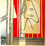 1928 Figure et profil, Pablo Picasso (1881-1973) Period of creation: 1919-1930