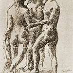 1923 Les trois GrГces, Pablo Picasso (1881-1973) Period of creation: 1919-1930