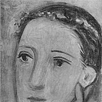 1928 TИte de femme, Pablo Picasso (1881-1973) Period of creation: 1919-1930