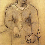 Pablo Picasso (1881-1973) Period of creation: 1919-1930 - 1921 Femme au chapeau. JPG
