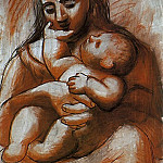 Pablo Picasso (1881-1973) Period of creation: 1919-1930 - 1921 MКre et enfant6