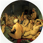 Турецкая баня, 1862., Jean Auguste Dominique Ingres