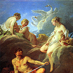 БУШЕ – Венера, просящая у Вулкана оружие для Энея, 1732., Louvre (Paris)