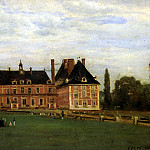 Louvre (Paris) - КОРО ЖАН БАТИСТ КАМИЛЬ - Росни, замок герцогини Беррийской, 1840.