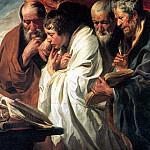 Четыре евангелиста., Jacob Jordaens