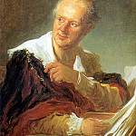 Портрет Дидро., Jean Honore Fragonard